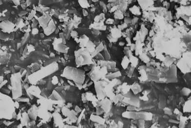 SEM crystalline active image (1500X magnification)
