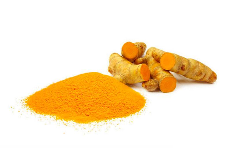 Dry turmeric extract 10% granular